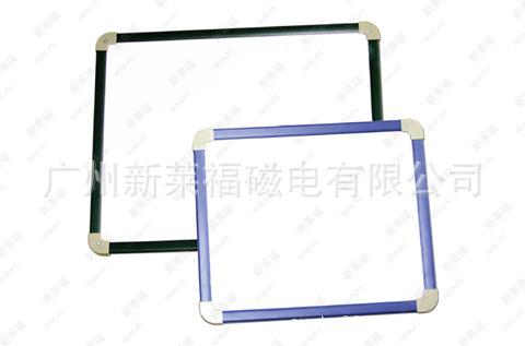 塑料边框单面软磁性写字白板